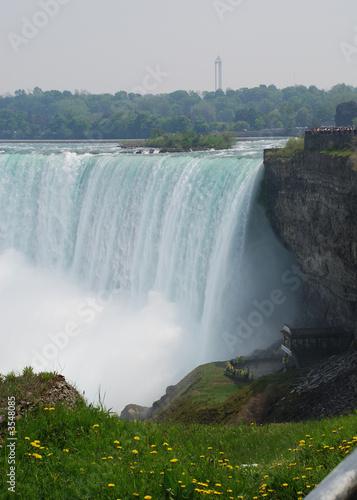 Küchenrückwand aus Glas mit Foto Wasserfalle Niagara