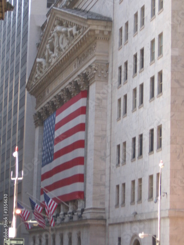 Photo  la bourse - wall street - new york