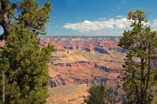 Tuinposter Canyon View of Grand Canyon, Arizona