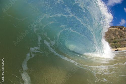 Foto auf Gartenposter Wasser hollow wave