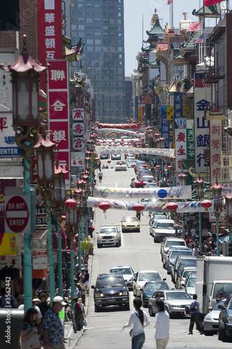 Poster Bangkok San Francisco's China Town