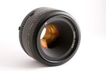Black 50mm Auto-focus Camera Lens