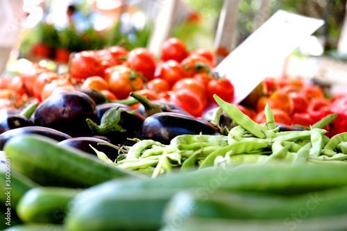 Photo Greek market