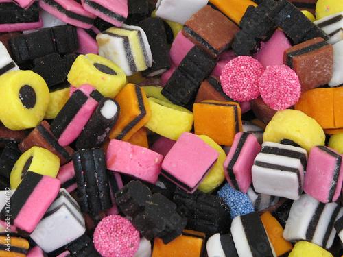 Keuken foto achterwand Snoepjes bonbon