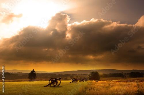 Fototapeta  Battlefield Sunrise