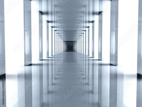 Fototapety przestrzenne   tunel-3d-w-stylu-nowoczesnym