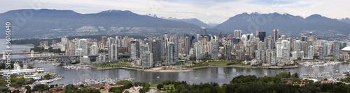 Staande foto Canada Vancouver Panorama
