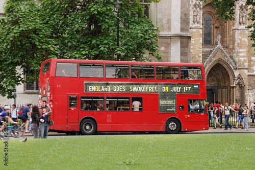 Foto London double decker bus