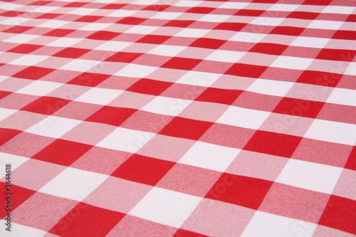 Fotografie, Obraz A traditional plaid picnic tablecloth fabric