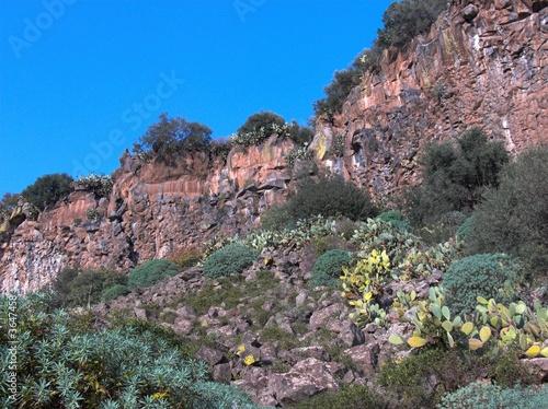 basalto parete costone Tapéta, Fotótapéta