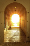 divine bright light in door..