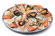 Leinwandbild Motiv Fresh seafood