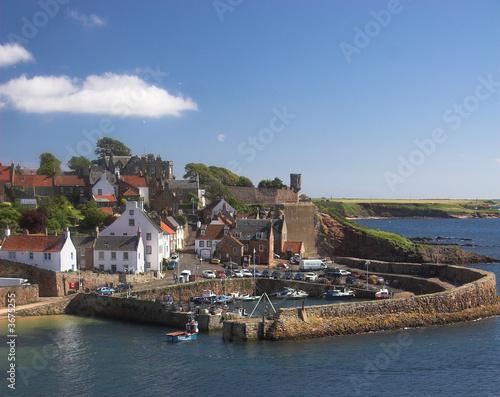 Fototapeta Crail Harbour 2