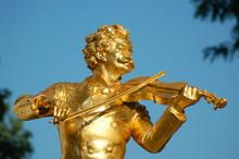 Johann Strauss Denkmal  Wien