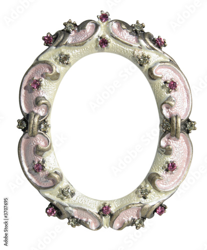 metal frame with flowers - Buy this stock photo and explore similar ...