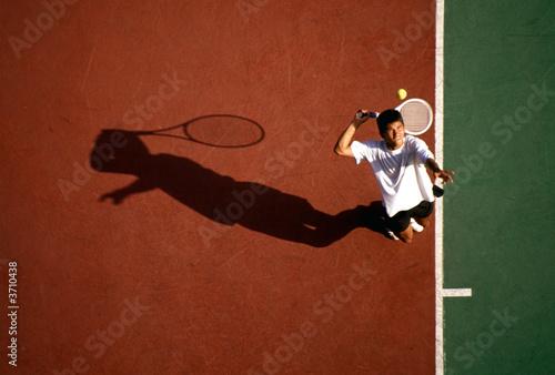 Tennis player Wallpaper Mural