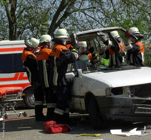 Poster Voitures rapides Unfall