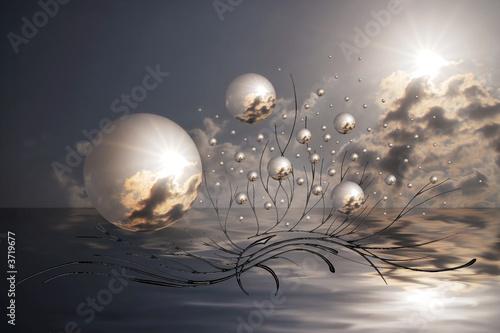 Obraz création numérique 3 - fototapety do salonu