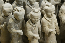 Details Of  2,000 Year Old Terracotta Warriors In China