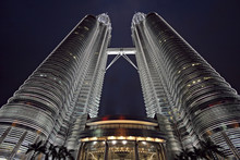 Wide-angle View Of The Petrona...