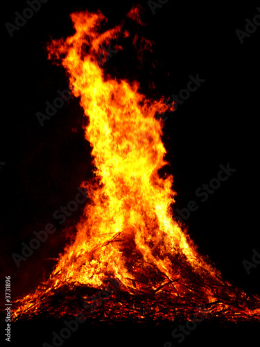 In de dag Vuur / Vlam Sonnwendfeuer
