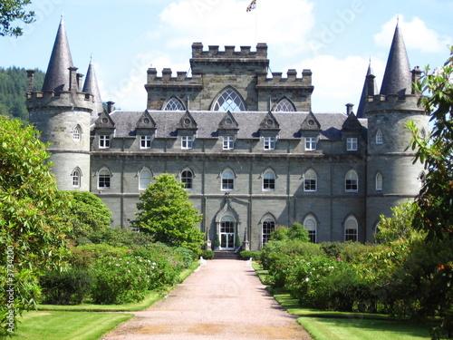 Le chateau d Inveraray Canvas Print