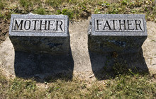Mother Father Gravestones