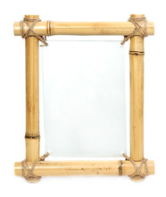 Bamboo Frame With Blank Glass ...
