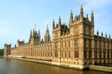 Widok parlamentu w Londynie