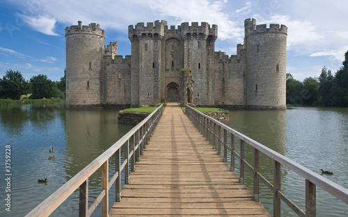 Photo sur Toile Chateau Bodiam Castle Sussex England