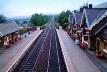 Settle Station In North Yorksh...