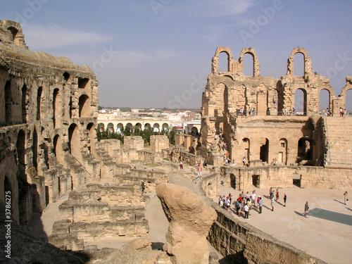Ruins of Roman Arena (colosseum)