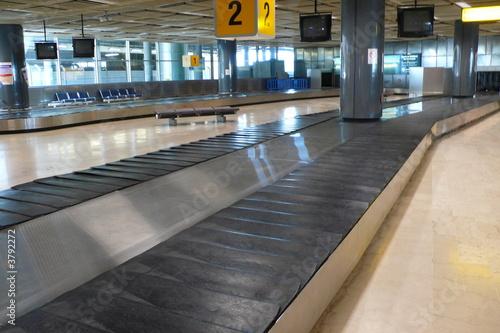 Foto op Aluminium Luchthaven tapis bagage