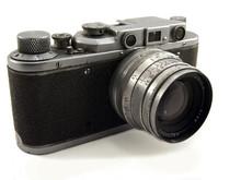 "Old Soviet Photocamera ""zorki"""