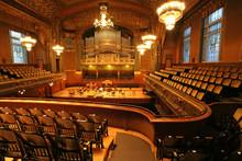 Old Auditorium, Gold And Velvet Decoration
