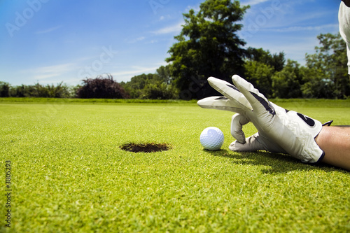 Fotografia, Obraz  Golf club
