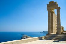 Temple Of Athena Lindia At Lin...