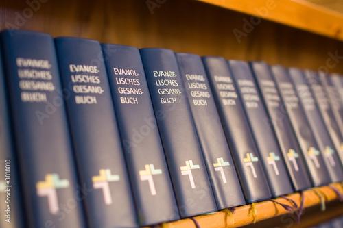 Valokuva  Gesangbücher Evangelisch