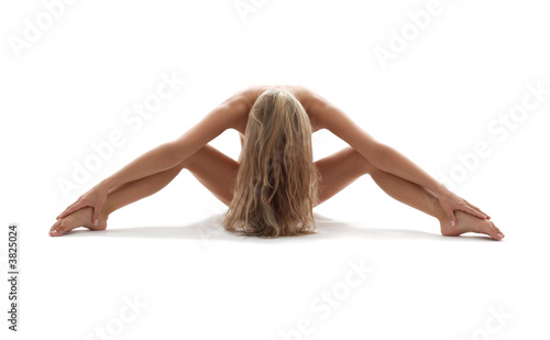 Naklejki na meble Artystyczne nagie zdjęcie kobiety w erotycznej pozie