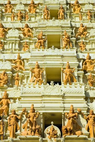 Photo  indian temple, singapore