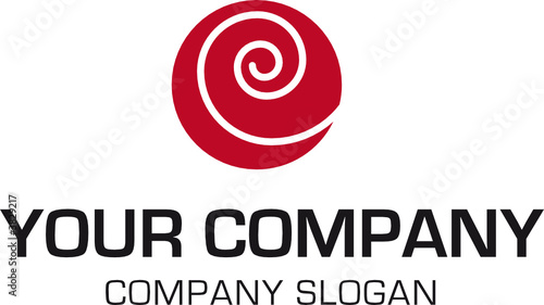 Photo Stands Spiral logo mit spirale