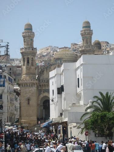 Vászonkép Mosquée Alger