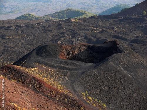 Vászonkép  Etna crateri Silvestri