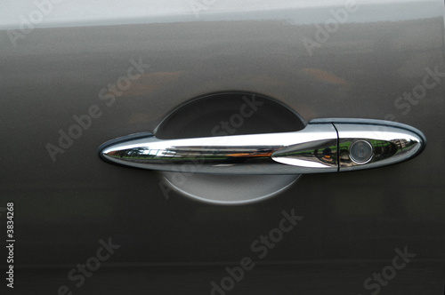 Fotografie, Obraz  Maniglia di automobile