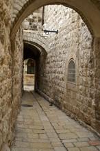 Historic Street In Old Jerusal...
