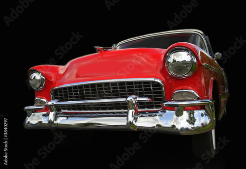 Red Chevy Car Tablou Canvas