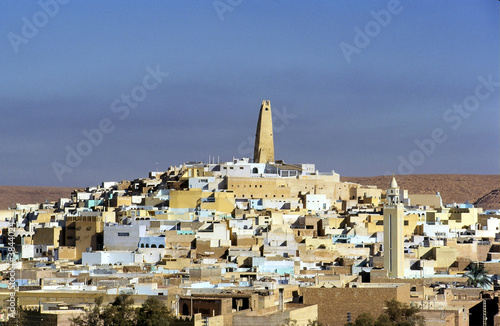 Ghardaia, Mozabite city of the northern Sahara, Algeria Wallpaper Mural