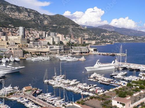 Spoed Foto op Canvas Oceanië Puerto en Monte Carlo