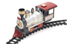 Series Object On White - Toy Steam Locomotive