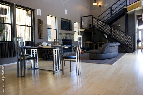Foto op Aluminium Luchthaven Modern asian inspired dining and living rooms